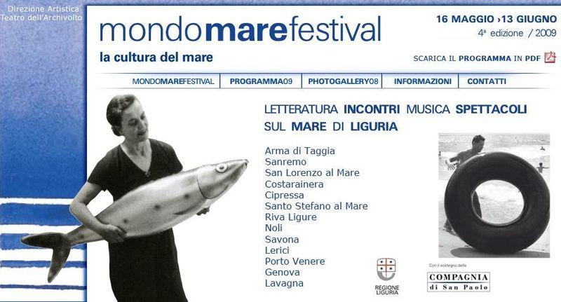Mondomare festival