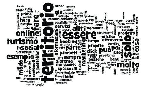 Tagcloud e-tourism