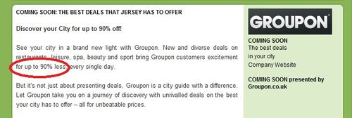 Groupon Discover your city